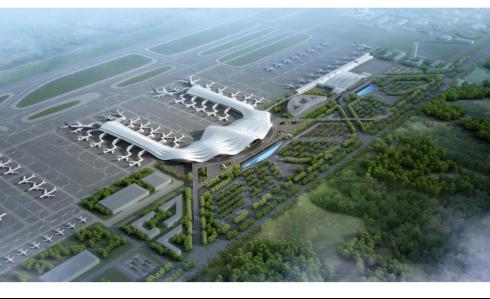 桂林两江国际机场航站楼BIM应用成果
