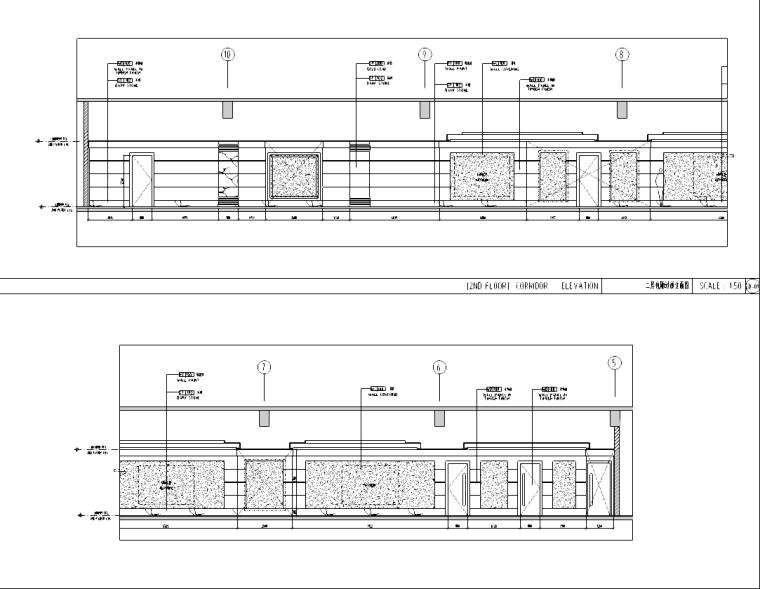 [浙江]某2000平米中餐厅室内设计施工图
