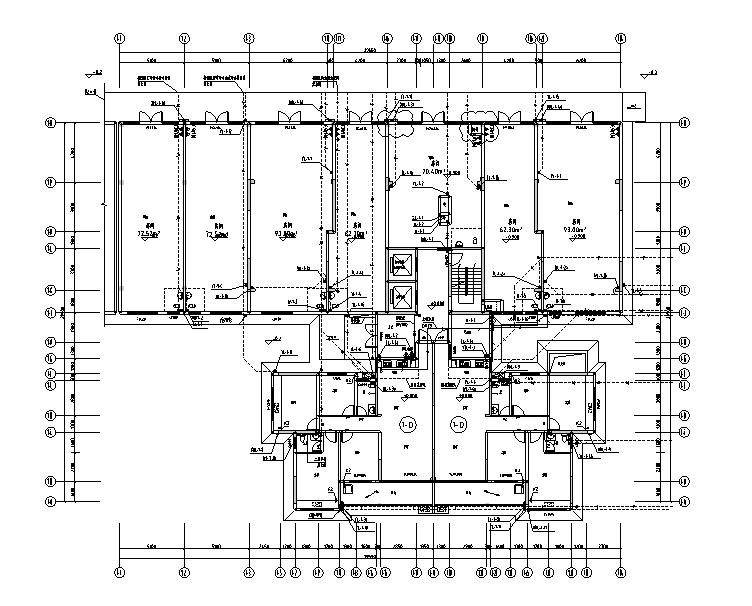 南宁永安嘉园居民区住宅施工图(2018)