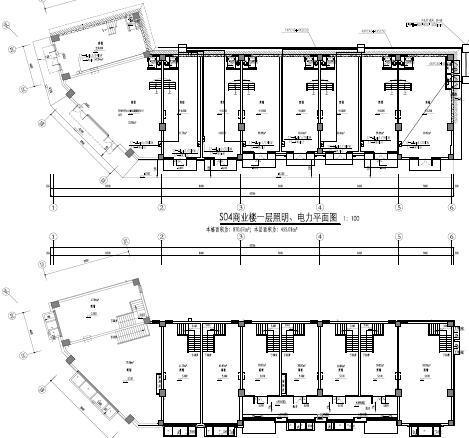 海南大型住宅配套基建及商业电气施工图