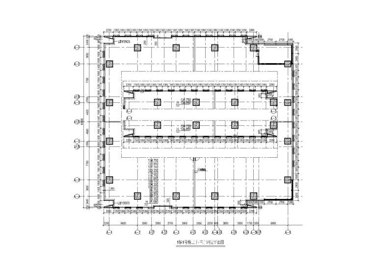 1栋1号楼二十-三十四层平面图