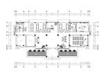 [苏州]新中式风格办公楼内部装修全套施工图(附效果图)