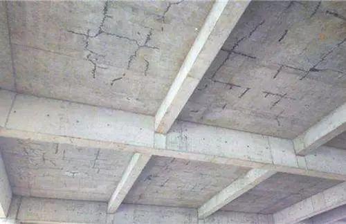 现浇钢筋混凝土楼板裂缝及处理