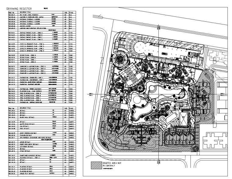 [广东]某新世界居住区景观设计全套施工图(包含cad+95)