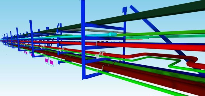 BIM应用案例分享-管线综合支吊架实施做法_4