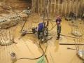 高层钢框架结构基桩检测方案