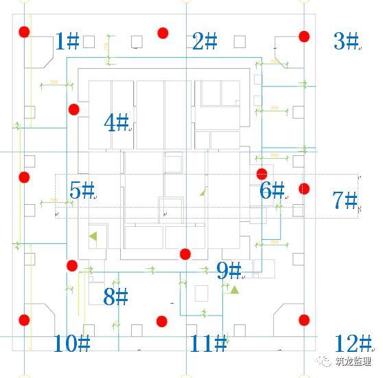 底板大体积混凝土施工工艺技术及监理控制重点,超高层地标建筑!_8