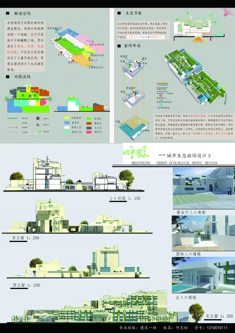 呼吸————城市生态旅馆设计_4