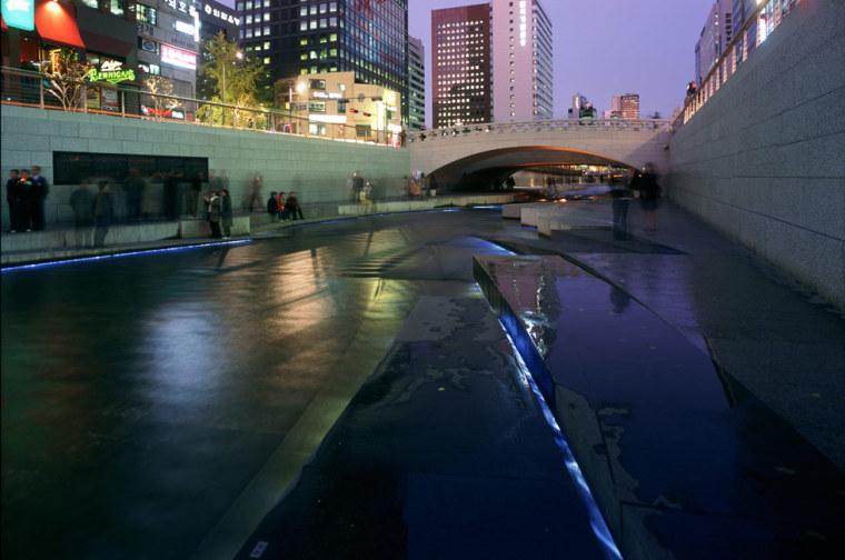 韩国ChonGae运河修复工程_7