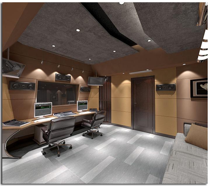 成都录音棚装修设计公司哪个好?细节看出水平_2