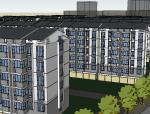 低层居住区方案设计模型