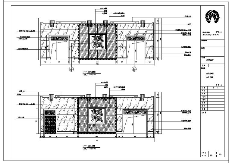 金沙明珠宴会贵宾现代风格室内设计施工图