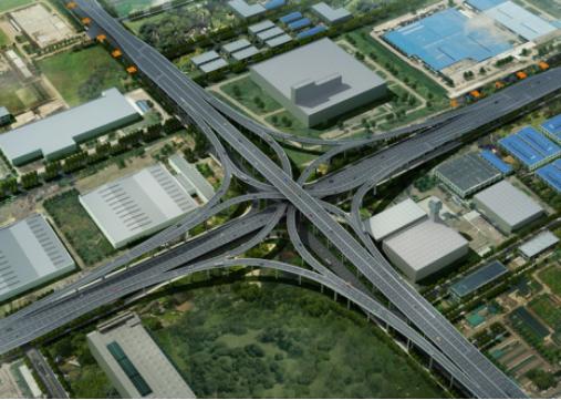 苏州中环快速路工程BIM应用