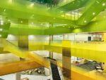 """运用60种不同颜色玻璃""""串""""起来的苏州微软研发中心"""