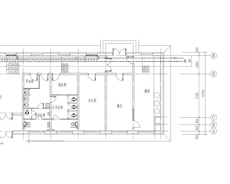 敬老院暖通施工图