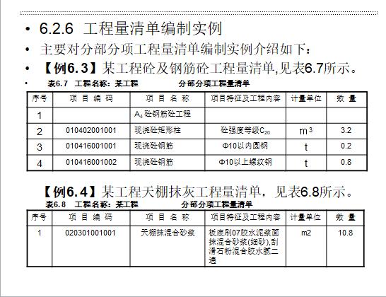 工程造价系列讲义-工程量清单及计价编制_2