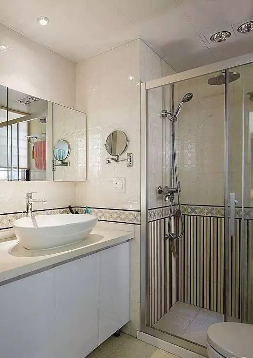 卫生间隔断有技巧,15款设计教你拯救小户型卫浴间