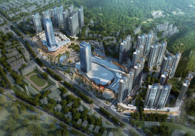[湖北]超高层娱乐百货商业中心建筑设计方案文本(含CAD)_3