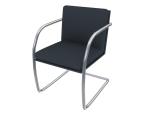 简洁办公椅3D模型下载