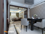 济南三室两厅的现代简约风格装修