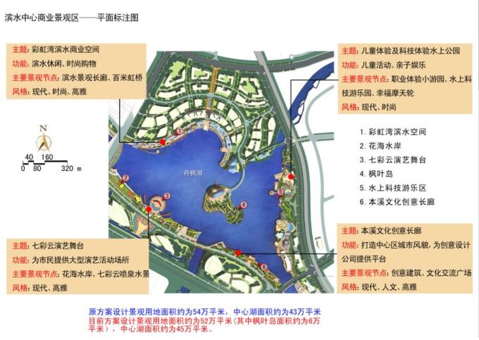 """[辽宁]""""一纵五横""""水系景观概念性规划设计_5"""