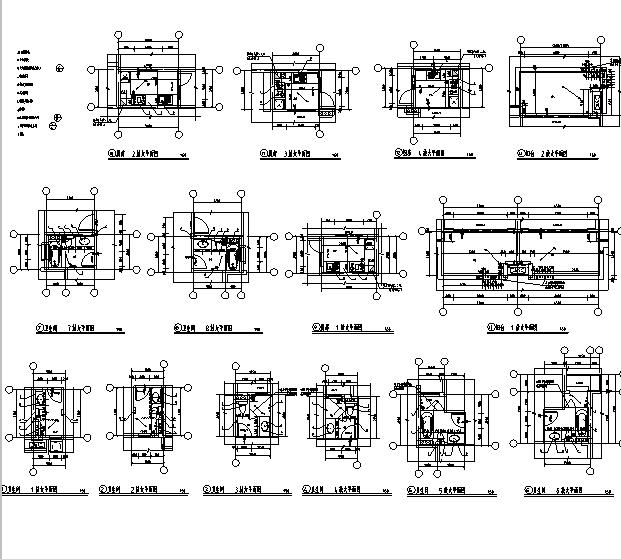 [海南]高层全专业审图后住宅建筑施工图(含全专业及车库)_10