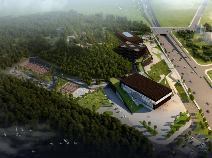 [湖南]西南设计院多功能文化艺术中心建筑设计方案文本_3