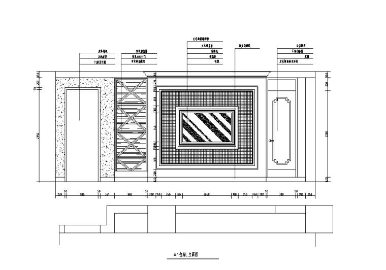 欧式奢华KTV设计施工图(含效果图)_3