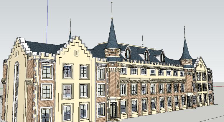 欧式风格宿舍楼