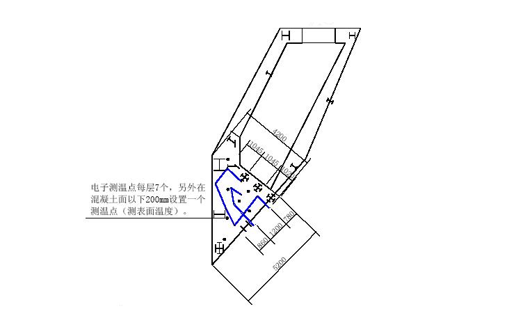 (杭州)大体积钢筋混凝土工程施工方案(共19页,内容详细)