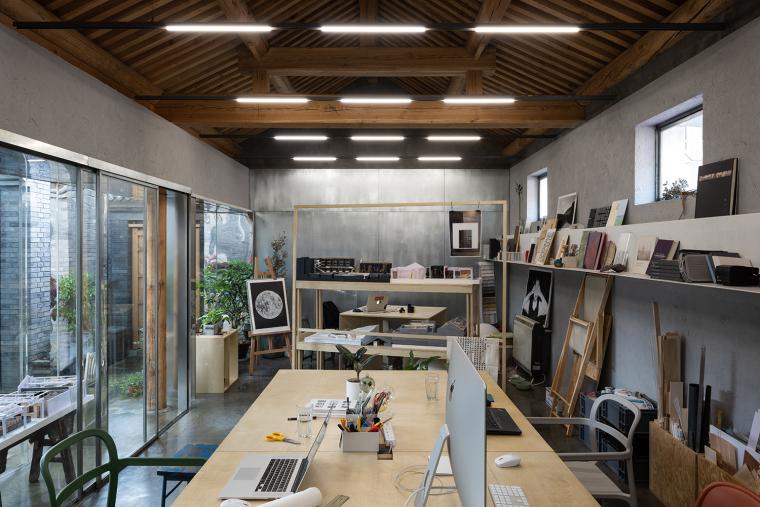 北京胡同中的工作室改造-8