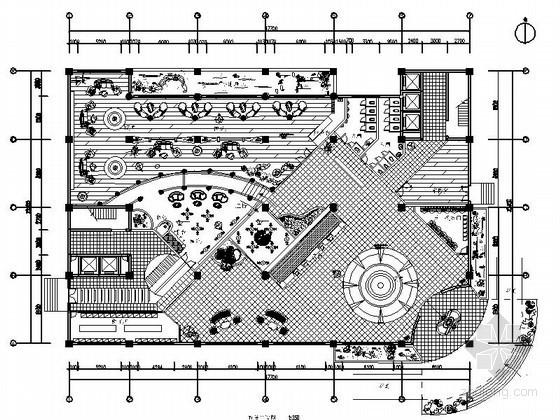 [广西]欧风酒店局部室内装修图