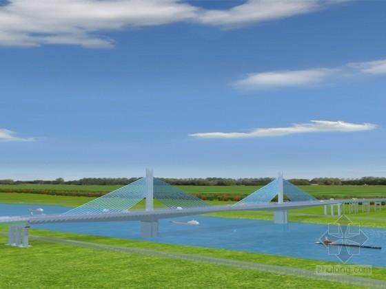 预应力混凝土矮塔斜拉桥工程施工动画演示(22分钟 画面高清)