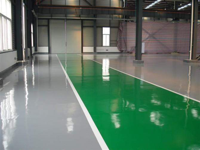 环氧树脂地坪漆常见问题及修补方法