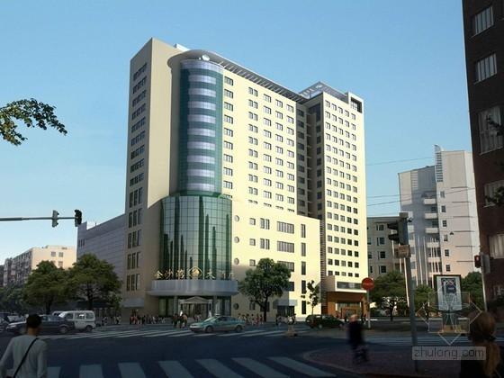 酒店建筑3D模型下载