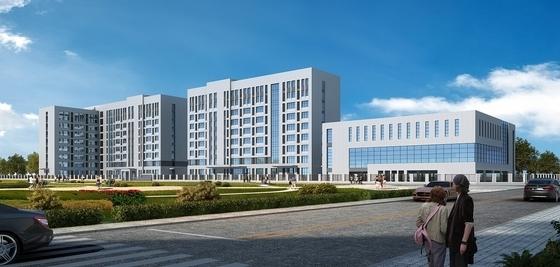 [厦门]现代风格材料研究所建筑设计方案文本(2015年含CAD)-现代风格材料研究所效果图