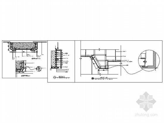成套电梯套、墙面装饰造型节点详图CAD图块下载