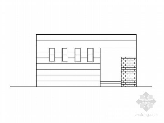 Isemachi公共厕所资料下载-[浙江]公共厕所建筑施工图(56平方米)