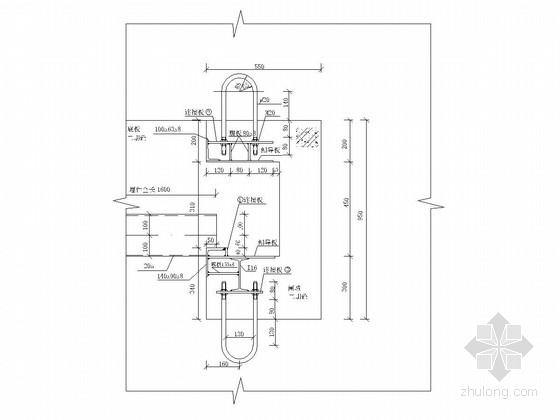 [湖北]水库钢闸门安装施工图(工作闸门 检修闸门)