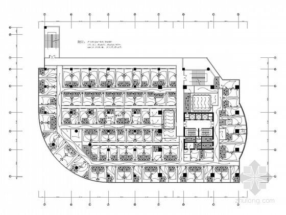 [厦门]快捷酒店装修工程电气施工图纸(含给排水)