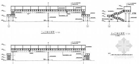 [广东]2013年某市政道路改造人行天桥项目工程量清单预算及图纸(桩基+钢架+景观照明)