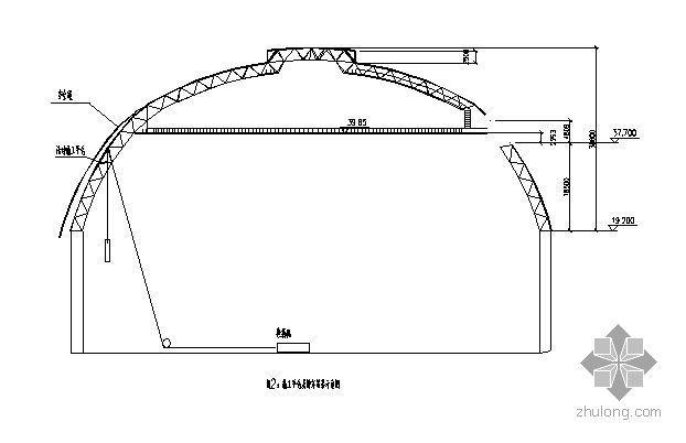 海南某电厂封闭煤场屋面工程压型钢板围护结构施工方案