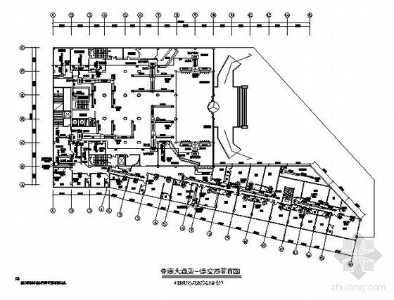 某国际大酒店中央空调设计图