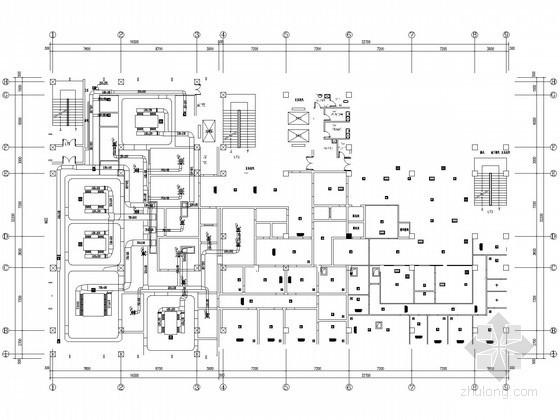 [烟台]医院手术室净化工程全套施工图纸(净化 装饰 电气)