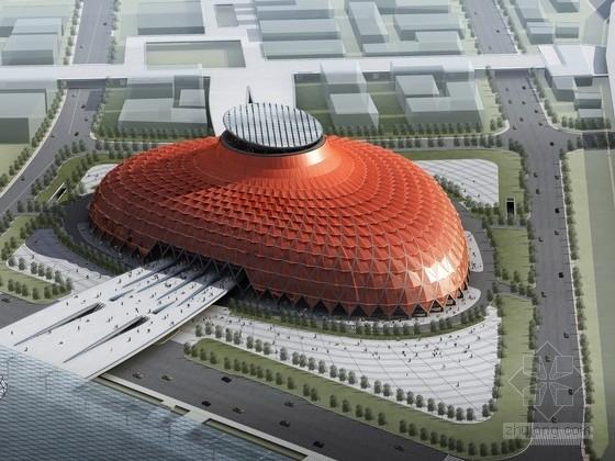 [上海]3层大型钢筋混凝土框架抗震墙结构展览馆方案文本(469张,含CAD,多媒体,模型文本)