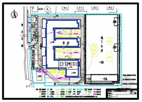 [北京]小区配套学校及地下车库工程施工组织设计