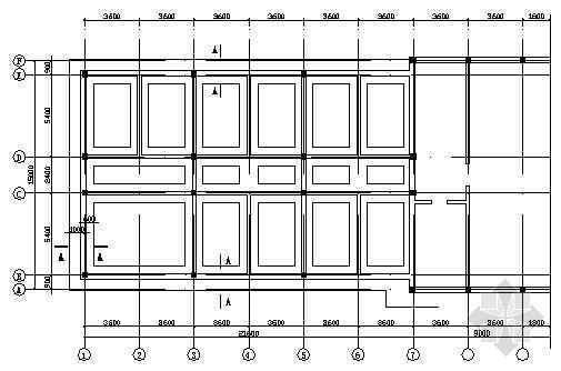 某已有建筑屋面加层(钢结构)结构施工图