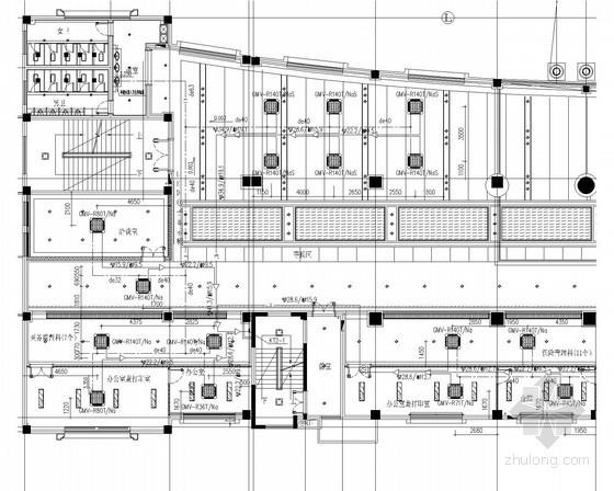 多联分体空调施工资料下载-[江苏]社会工作保障办公楼多联空调系统设计施工图(含建筑设计)