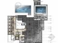 [青岛]欧陆式建筑风格庭院式五星级酒店室内装修概念方案