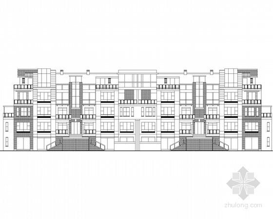 [四川]某五层花园洋房建筑方案图(含效果图)
